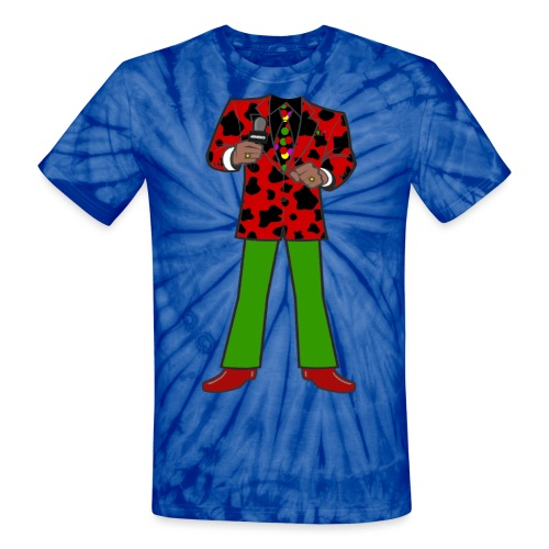 The Red Cow Suit - Unisex Tie Dye T-Shirt