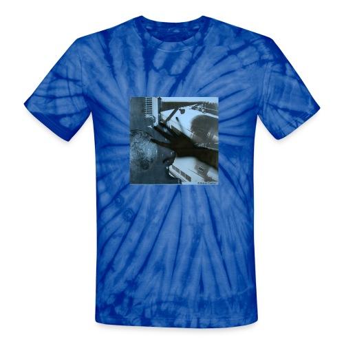wchseries trainstop cr - Unisex Tie Dye T-Shirt