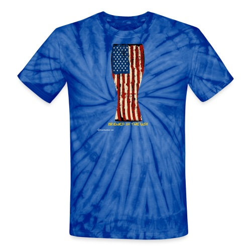 Brewed In The USA - Unisex Tie Dye T-Shirt