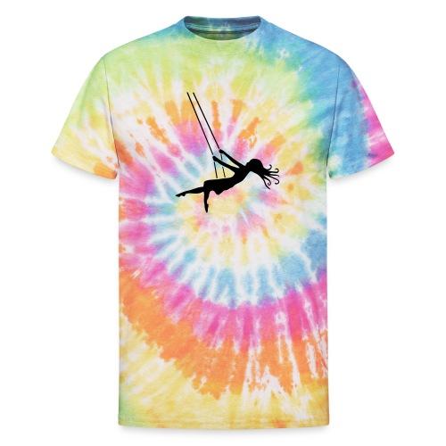 Swinging Girl - Unisex Tie Dye T-Shirt