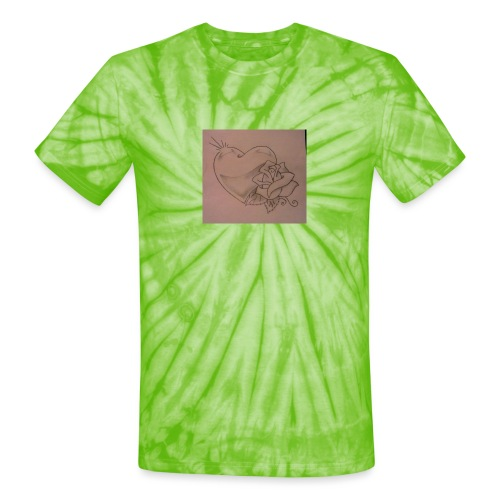 Love - Unisex Tie Dye T-Shirt