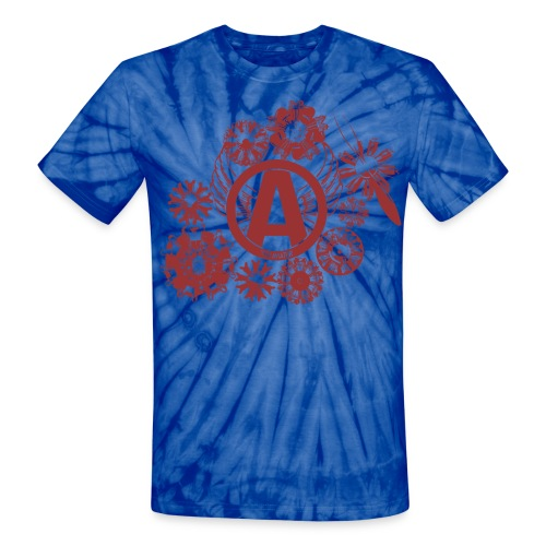 enginesavatardesignred - Unisex Tie Dye T-Shirt