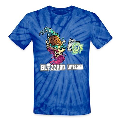 Blizzard Wizzard [Variant] - Unisex Tie Dye T-Shirt