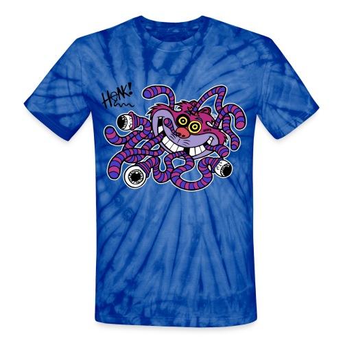 Kitty Zika Black Honk - Unisex Tie Dye T-Shirt