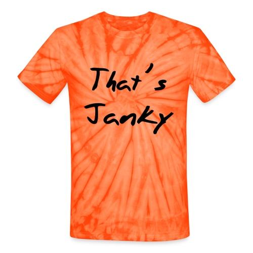 janky - Unisex Tie Dye T-Shirt