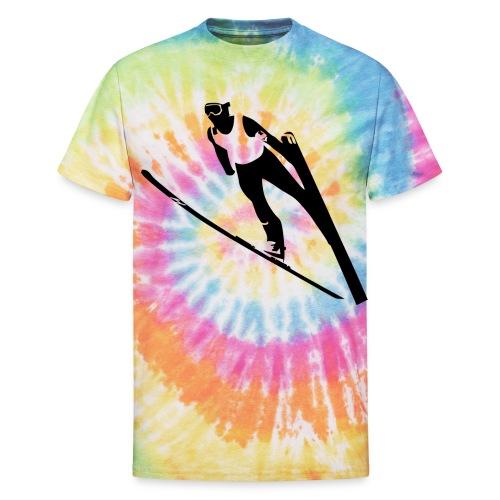 Ski Jumper - Unisex Tie Dye T-Shirt