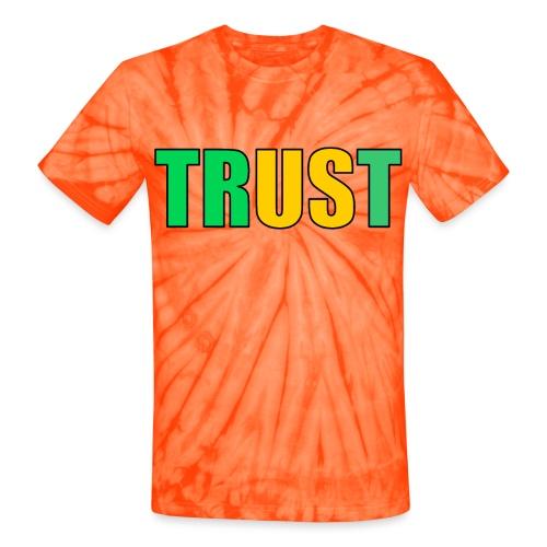 TRUST - Unisex Tie Dye T-Shirt