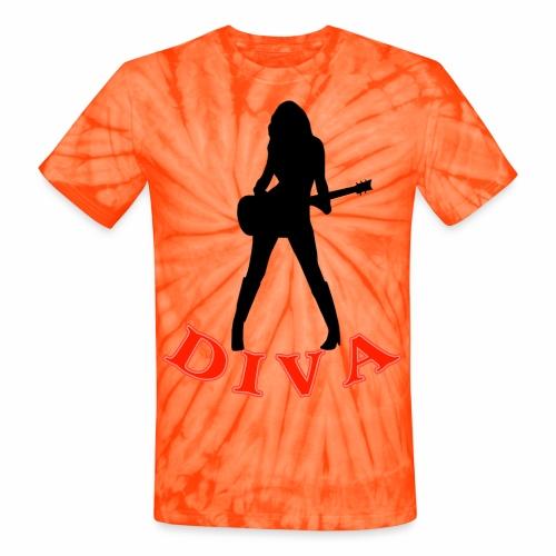 Rock Star Diva - Unisex Tie Dye T-Shirt
