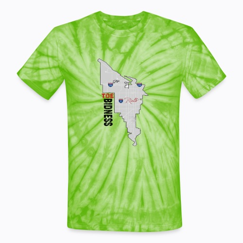 Toe Bidness - Unisex Tie Dye T-Shirt