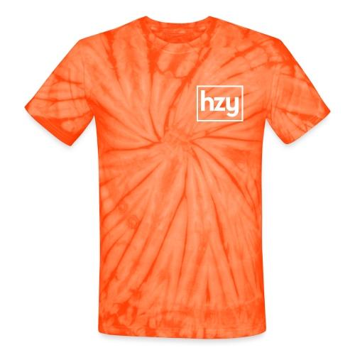 Hazey hzy Logo White - Unisex Tie Dye T-Shirt