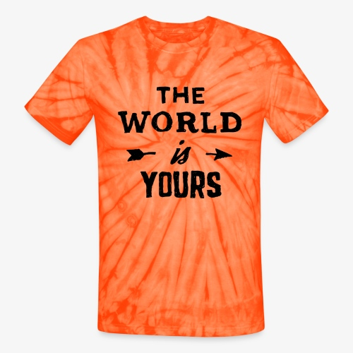 the world - Unisex Tie Dye T-Shirt
