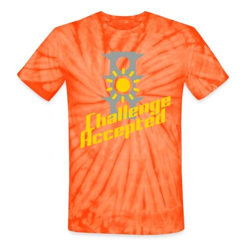 Challenge Accepted - Unisex Tie Dye T-Shirt