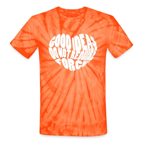 Good Ideas Heart - Unisex Tie Dye T-Shirt