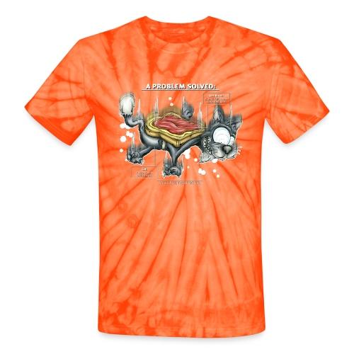 Der Problemlöser_E - Unisex Tie Dye T-Shirt