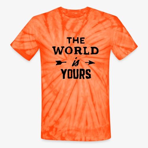 the world - Unisex Tie Dye T-Shirt