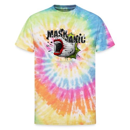 mask panic - Unisex Tie Dye T-Shirt