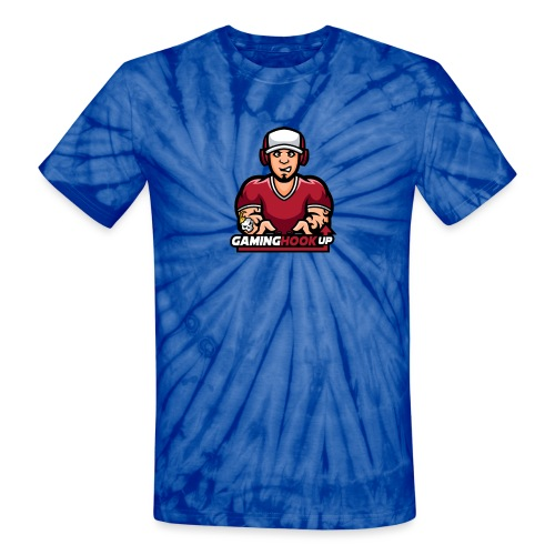 Your One Stop GamingHookup - Unisex Tie Dye T-Shirt