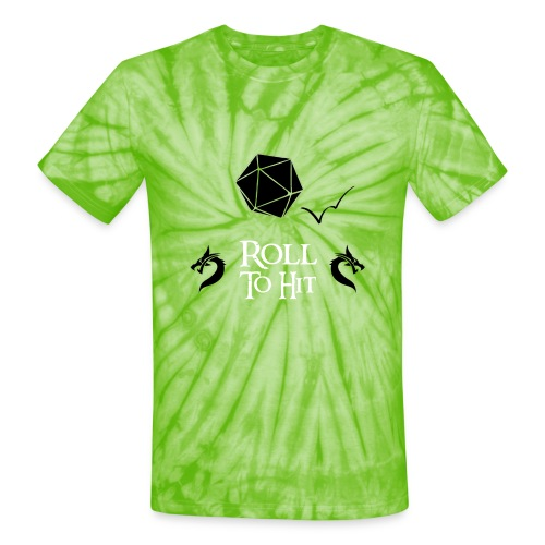 Roll to Hit - Unisex Tie Dye T-Shirt
