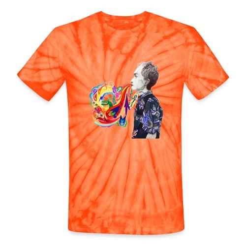 Breathe Cover Art - Unisex Tie Dye T-Shirt