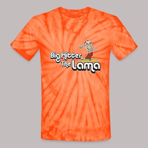 Big Hitter The Lama - Unisex Tie Dye T-Shirt