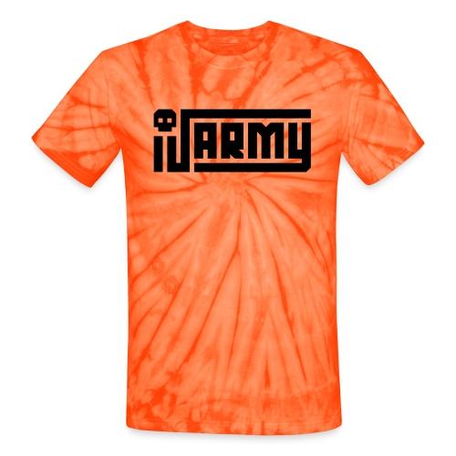 iJustine - iJ Army Logo - Unisex Tie Dye T-Shirt