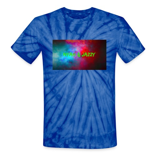 NYAH AND JAZZY - Unisex Tie Dye T-Shirt