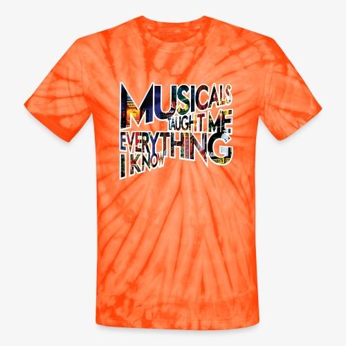 MTMEIK Broadway - Unisex Tie Dye T-Shirt