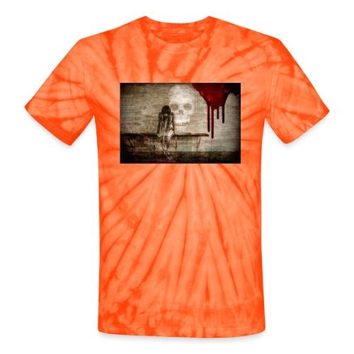 sad girl - Unisex Tie Dye T-Shirt