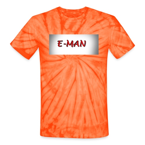 E-MAN - Unisex Tie Dye T-Shirt