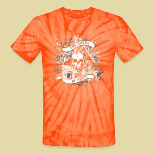 hoh_tshirt_skullhouse - Unisex Tie Dye T-Shirt