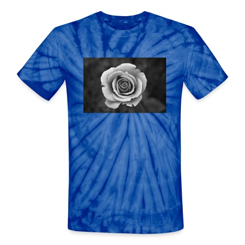 dark rose - Unisex Tie Dye T-Shirt