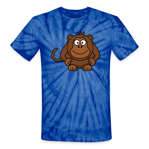 Funny Monkey - Unisex Tie Dye T-Shirt
