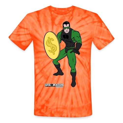 Superhero 4 - Unisex Tie Dye T-Shirt
