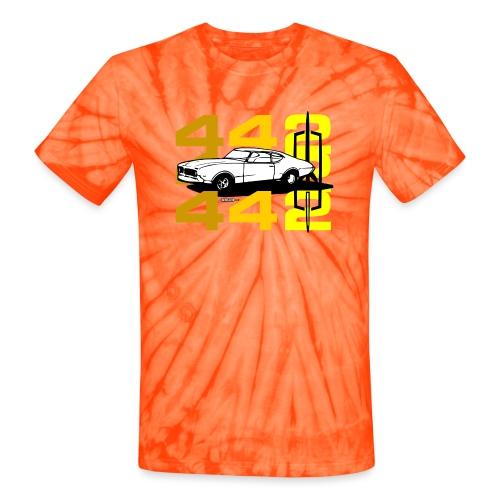 auto_oldsmobile_442_002a - Unisex Tie Dye T-Shirt