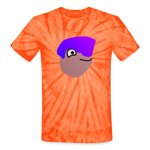 grunt head 3 png - Unisex Tie Dye T-Shirt
