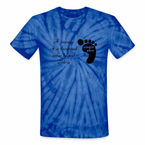 Single Step - Unisex Tie Dye T-Shirt