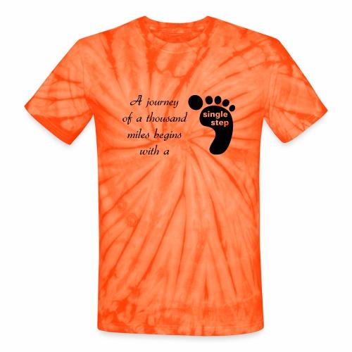 Single Step - Unisex Tie Dye T-Shirt