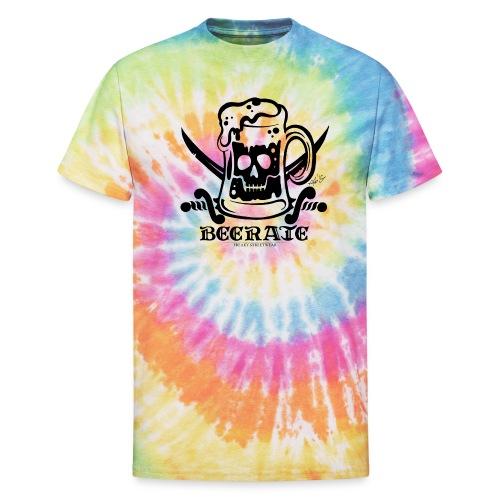 Beerate - black - Unisex Tie Dye T-Shirt