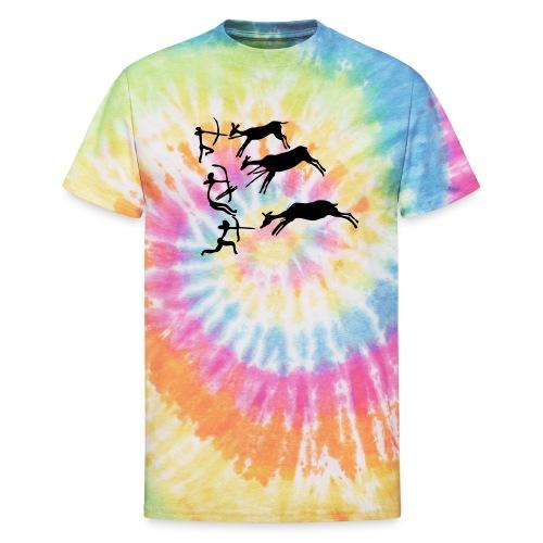 Lascaux Cave Painting - Unisex Tie Dye T-Shirt
