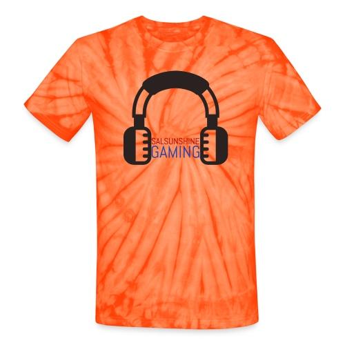 SALSUNSHINE GAMING LOGO - Unisex Tie Dye T-Shirt