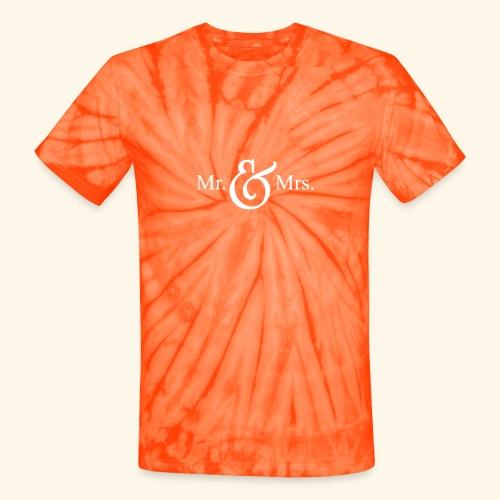 MR.& MRS . TEE SHIRT - Unisex Tie Dye T-Shirt