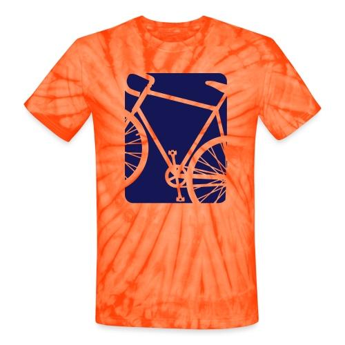 Bicycle Biking Bike - Unisex Tie Dye T-Shirt