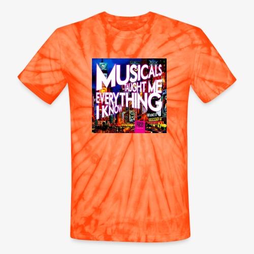 MTMEIK Cover - Unisex Tie Dye T-Shirt