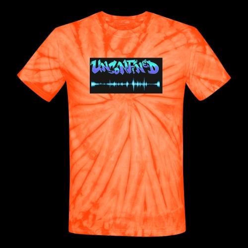 unconfined design1 - Unisex Tie Dye T-Shirt