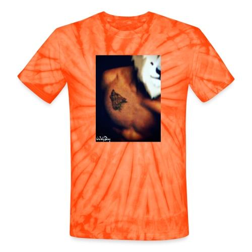 WOLFDOGINTHEFLESH - Unisex Tie Dye T-Shirt