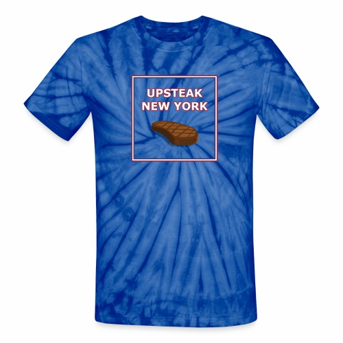 Upsteak New York | July 4 Edition - Unisex Tie Dye T-Shirt