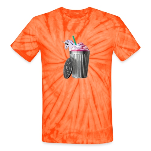 trash brigade unicorn - Unisex Tie Dye T-Shirt