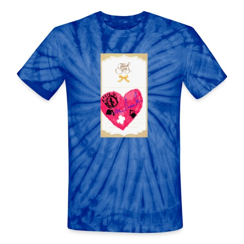 Heart of Economy 1 - Unisex Tie Dye T-Shirt