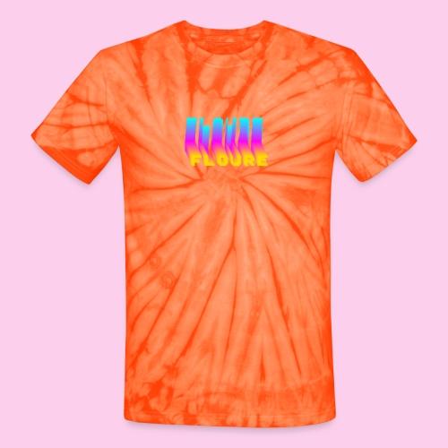 FLOURE VAPORWAVE - Unisex Tie Dye T-Shirt