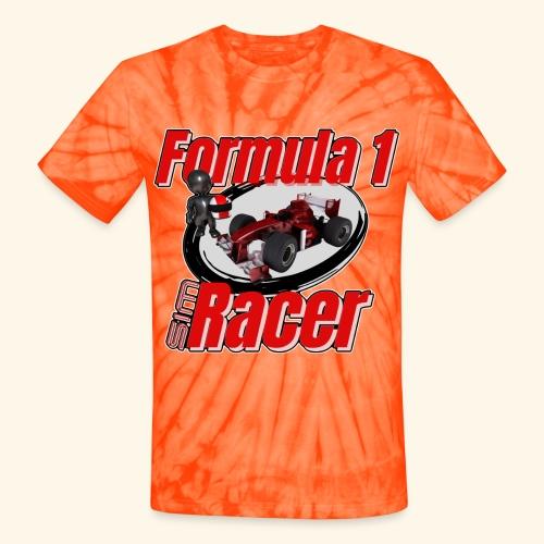Formula 1 Sim Racer - Unisex Tie Dye T-Shirt